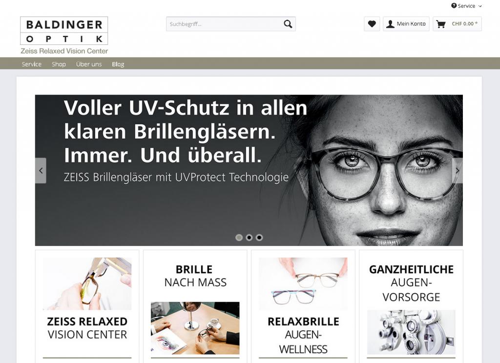 Kunde Baldiger-Optik.ch bei Medienservice24.org